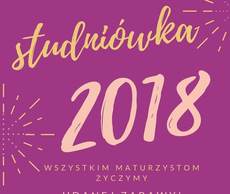 Studniówka 2018