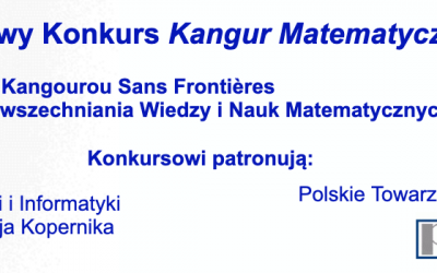 Finał konkursu Kangur Matematyczny