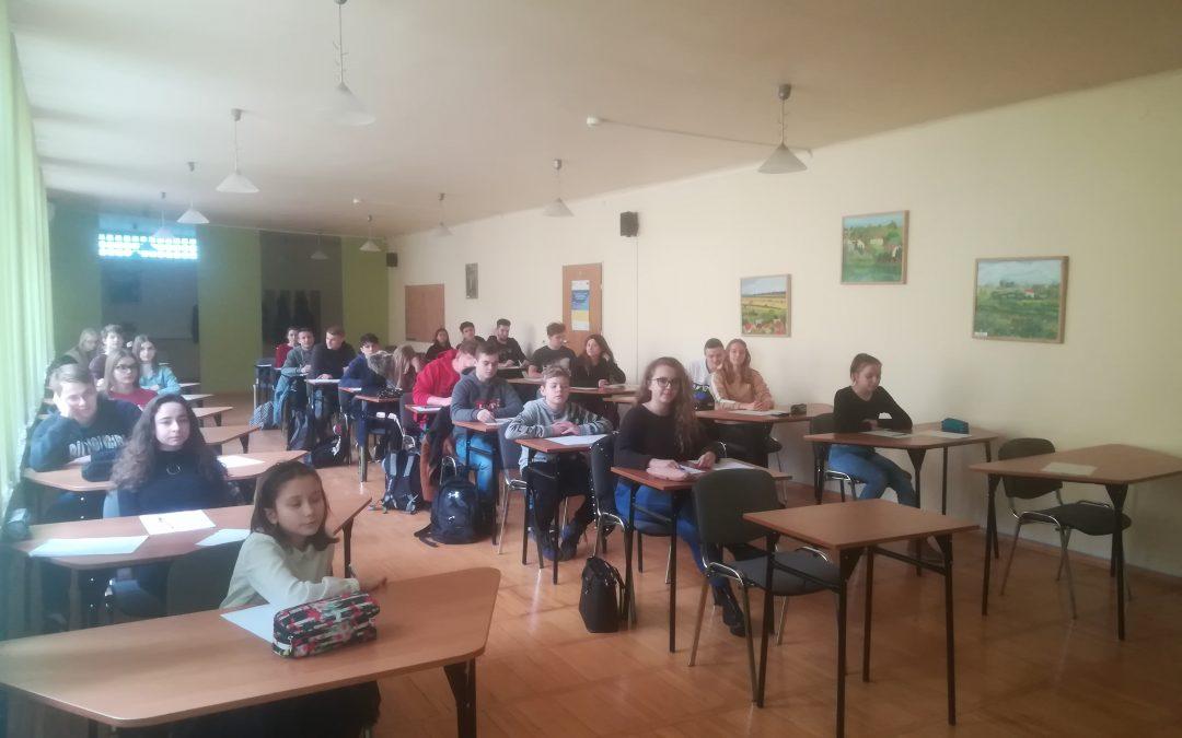 Finał Szkolnego Konkursu Matematycznego