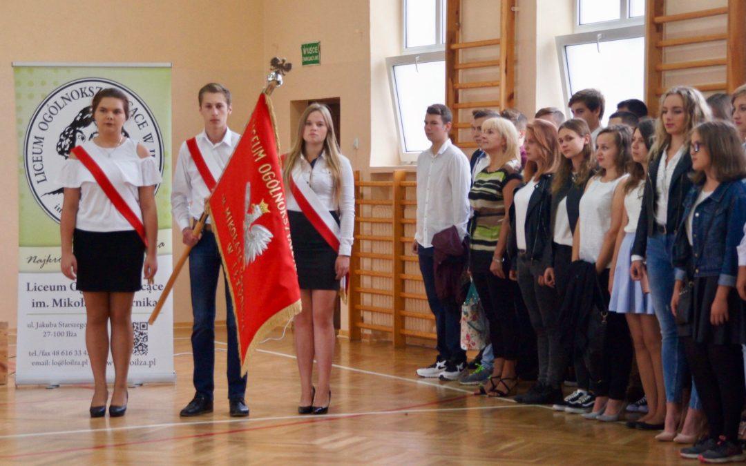 Rok szkolny 2017/2018 rozpoczęty
