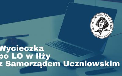 Samorząd Uczniowski zaprasza na wycieczkę po szkole