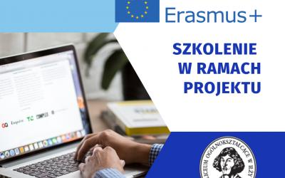Szkolenie w ramach projektu Erasmus+ ComMUNity